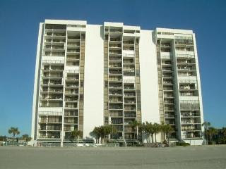 Glass balcony, oceanfront unit@Brigadune Shore Drive Myrtle Beach SC#6A