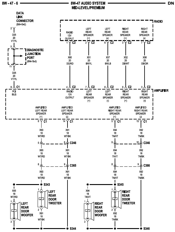 Wiring Site Resource: 2004 Dodge Durango Radio Wiring Diagram on