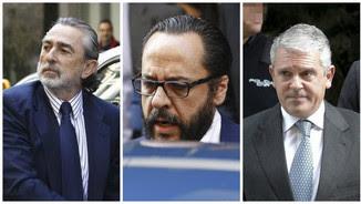 """Francisco Correa, Álvaro Pérez """"El Bigotes"""" i Pablo Crespo"""