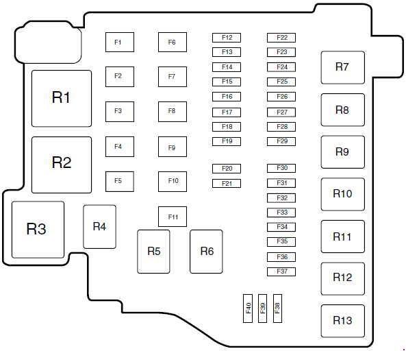 Ford Fiestum Fuse Box Diagram Manual Guide