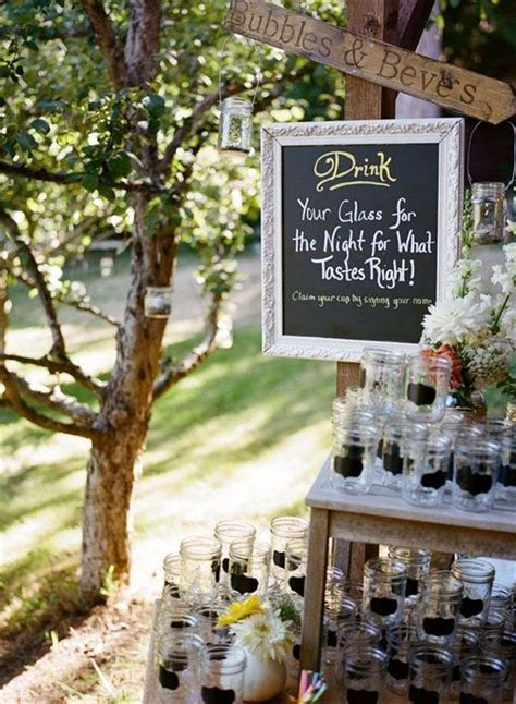 17 Best ideas about Drink Station Wedding on Pinterest