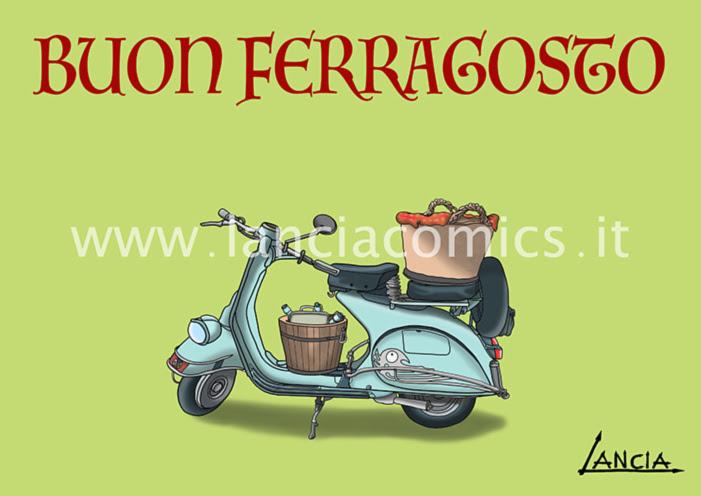Buon Ferragosto Lanciacomics