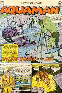 Adventure #224 Aquaman Splash Page