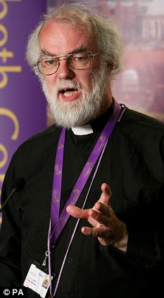 Wrong sermon: Rowan Williams ought to be espousing Christian values, not those of the Lib Dems