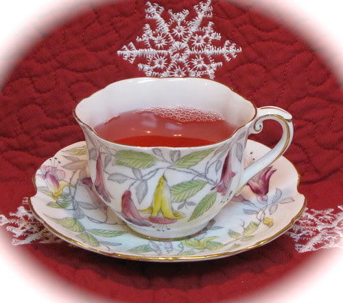 Royal Stafford Fuschia Teacup