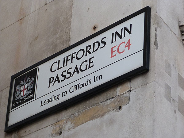 cliffords inn passage
