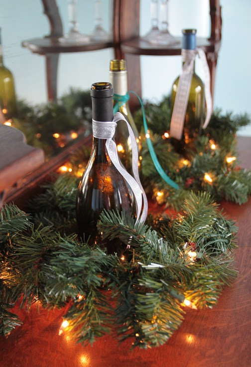 Wine Bottles For Holiday Decorations Bran Appetit