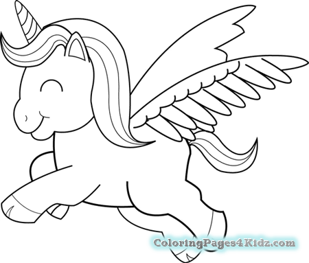 7200 Coloring Pages Of Cute Unicorns Pictures