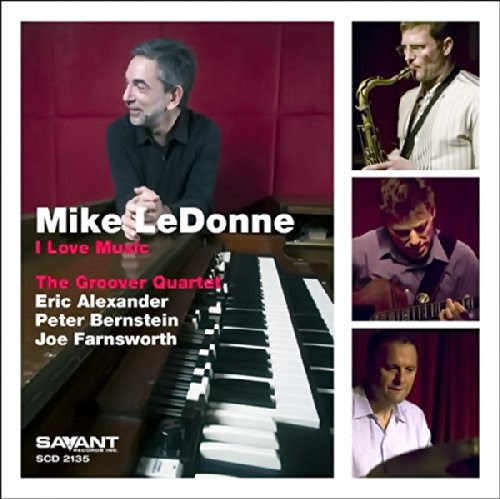 Mike LeDonne - I Love Music cover