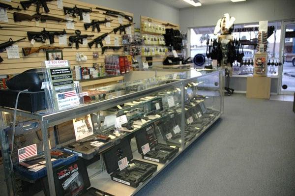 Inside a Florida gun shop
