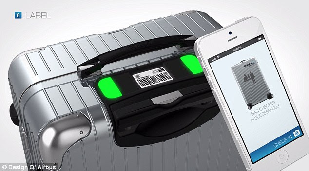 Developed in association with Airbus, Bag2Go is the first of its kind when it comes to digitally-enabled bags