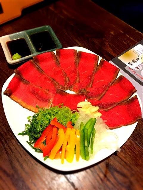 野菜牛肉卷 - 尖沙咀的狎鷗亭居酒屋