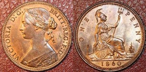 1860 Victorian Penny