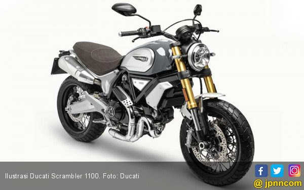 Menunggu 2 Varian Baru Ducati Scrambler 1100
