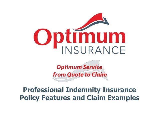 Policy features and claim examples
