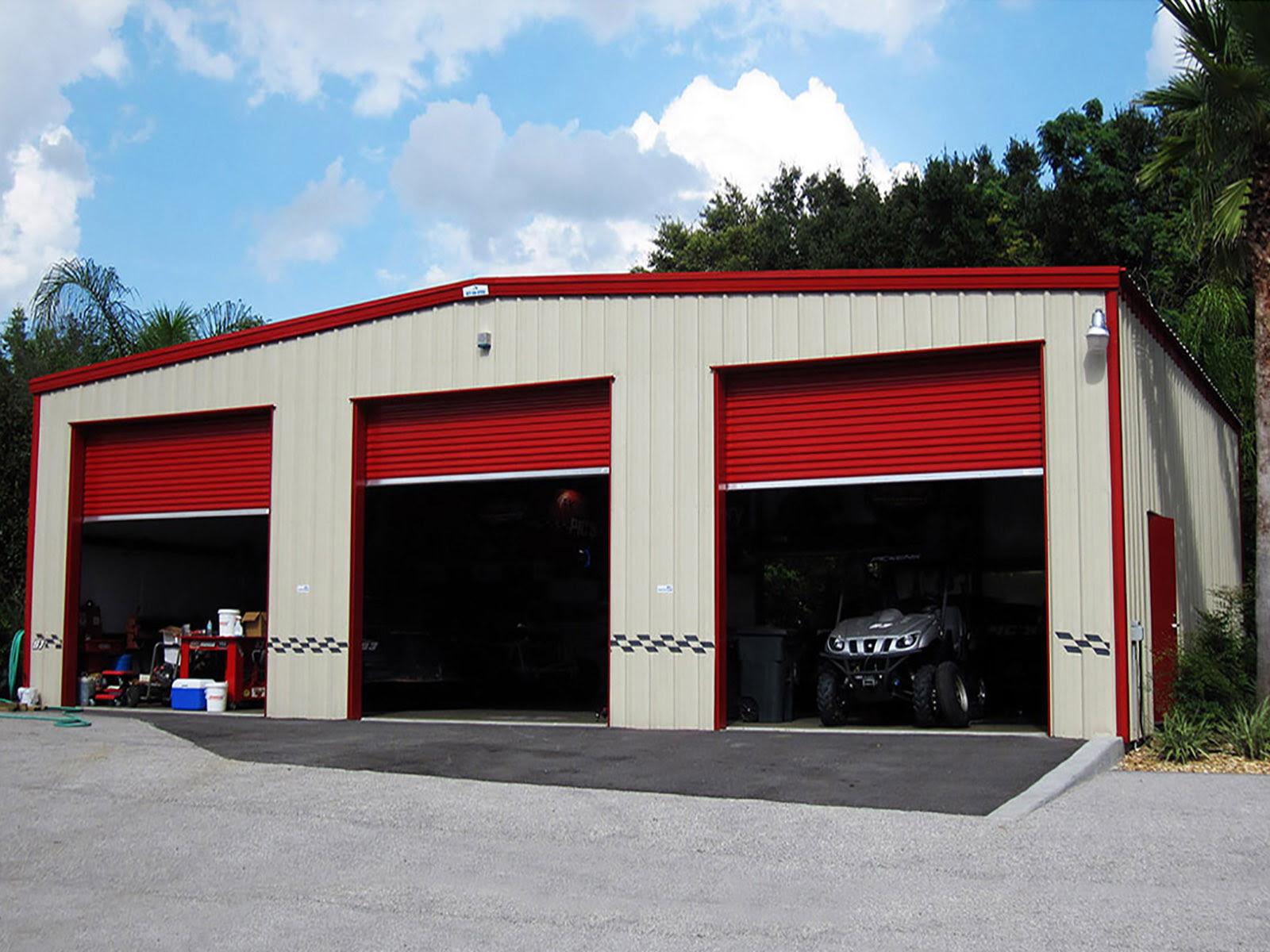 Workshop Buildings, Metal Shop Buildings, Steel Garages ...