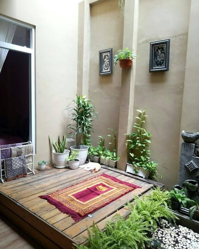 Mushola Dalam Rumah Minimalis Modern | Ide Rumah Minimalis