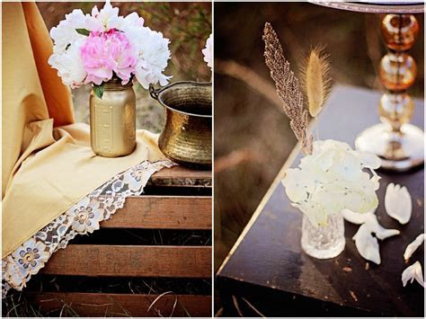 Inspiration And Ideas For A Vintage Style Wedding   Rustic