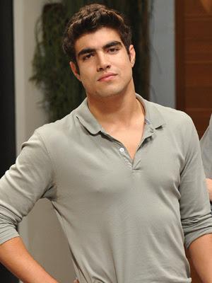 Caio Castro (Foto: Alex Carvalho/TV Globo)