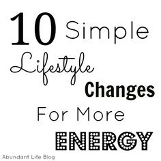 how to have more energy (simple steps and reminders looking into next year)