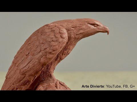 Curso de escultura en línea: Cómo modelar un águila en plastilina