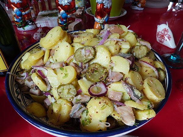 salsade de pommes de terre