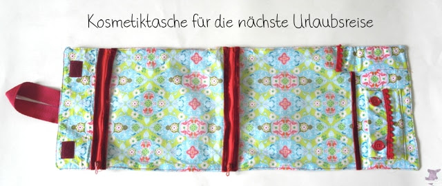 DIY Anleitung / Tutorial Travel case nähen