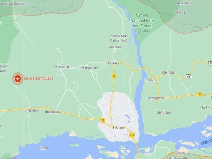 After 6.4 magnitude jolt, six earthquakes hit Assam's Sonitpur today