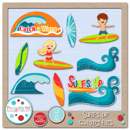 Surf's Up Cutting Files
