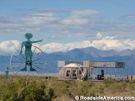 UFO Watch Tower.