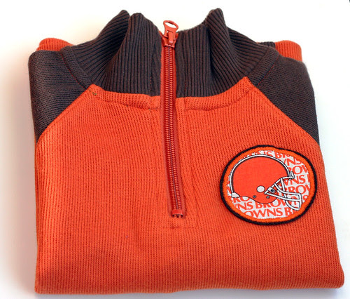 Go Browns, toddler-style.