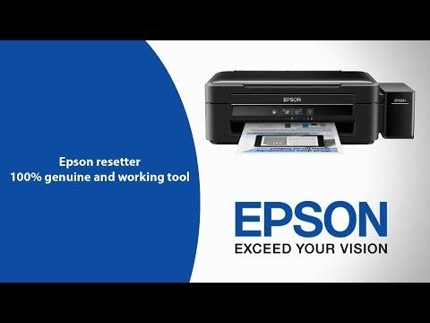 Epson l380 resetter tool Download Unlocked