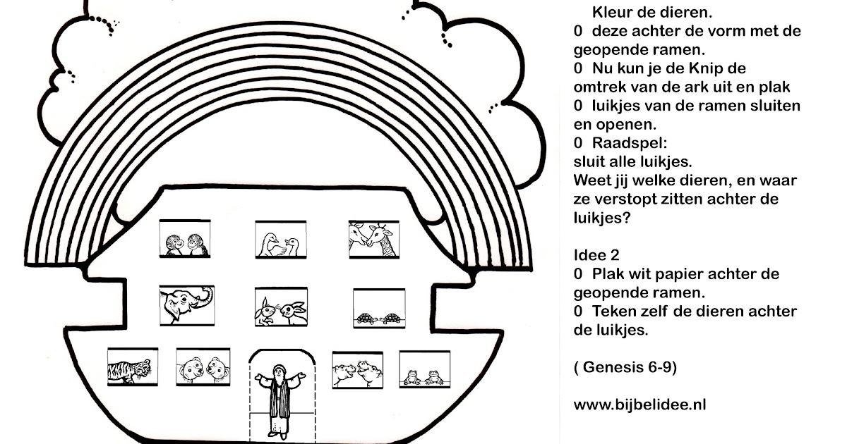 rapia kuning09 kleurplaaten ark noach
