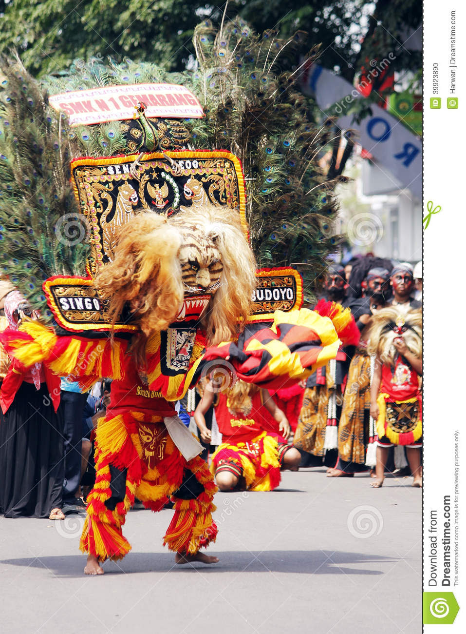 Indonesian Culture Carnival Editorial Image  Image: 39923890