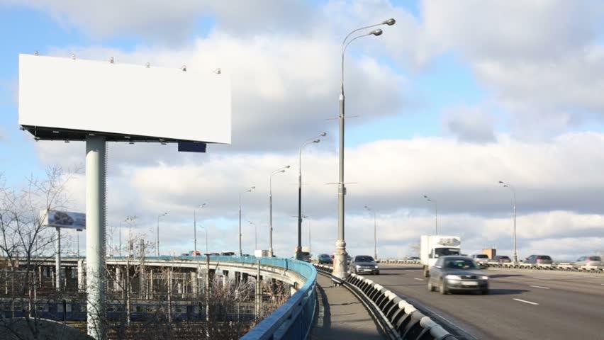 Blank Billboard City Stock Footage Video - Shutterstock
