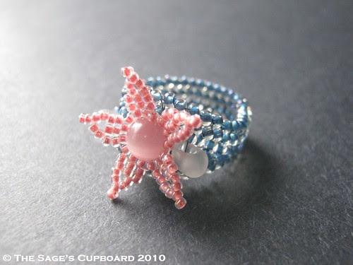 Baby Fish Blues Ring