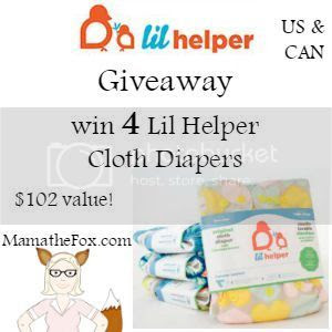 Lil Helper Cloth Diaper Giveaway