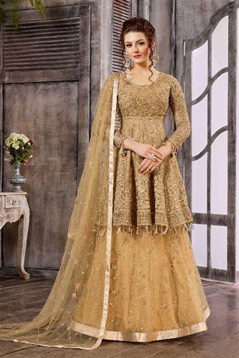 Heavy Work Bridal Wedding Wear Unique Designer Suits