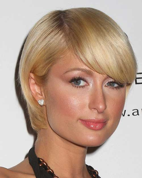 10 Bob Hairstyles With Bangs For Round Faces  Bob Hairstyles 2017