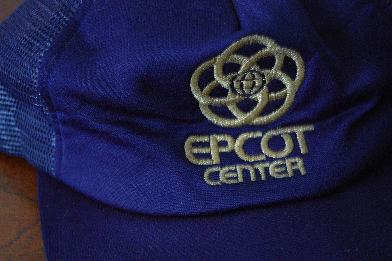 Vintage EPCOT CENTER Blue Baseball Cap SALE