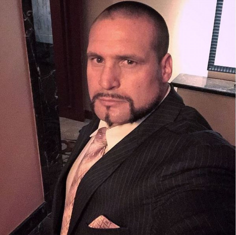 Dapper: The selfie-loving German bodyguard has often shared images on social media after building his own online following thanks to his work with celebrities but has turned his account settings private in the wake of the attack