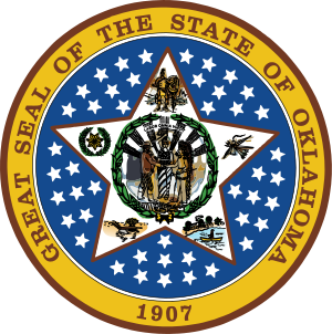 Seal of Oklahoma.