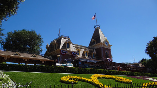 Disneyland Resort, Disneyland, Main Street U.S.A., Train Station