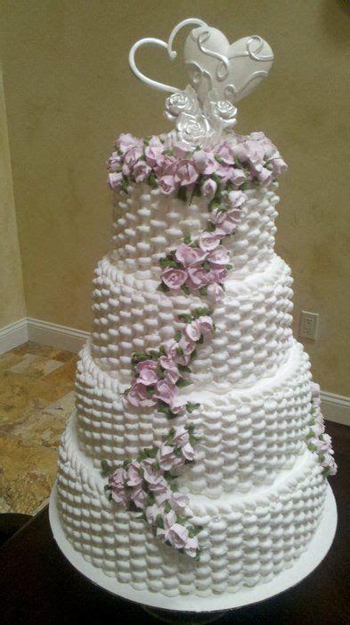 Basket Weave Wedding Cake   Cakes   Pinterest   Wedding
