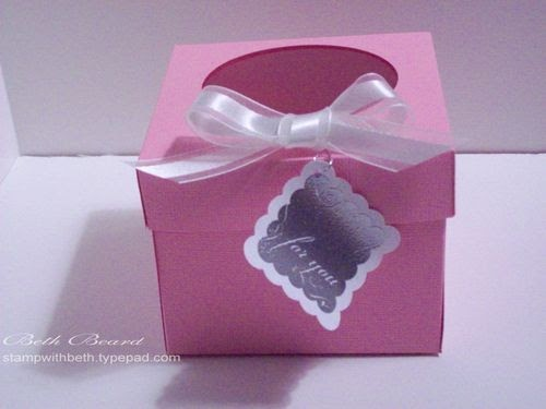 my little craft blog  how to make an individual cupcake box