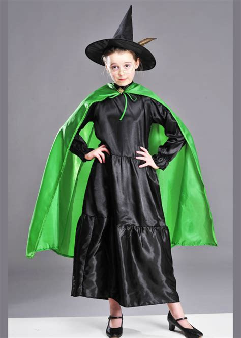 Childrens McGonagall Style Witch Costume