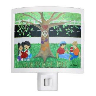 Our Peace Tree Night Light