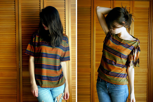 5 Creative Ways To Redesign Old T-shirts  Recycle Old Clothes - Wiki-How