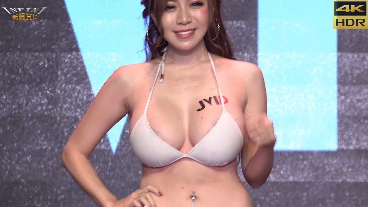 【無限HD】JKF女神之夜 JVID Girls 走秀(4K HDR)   Gái xinh Trung Quốc mặc bikini show hàng