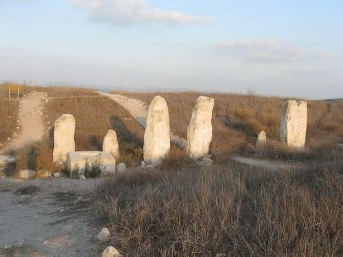 The standing stones of Gezer's